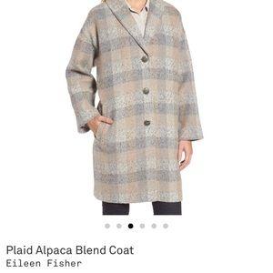 Eileen Fisher Alpaca Car Coat